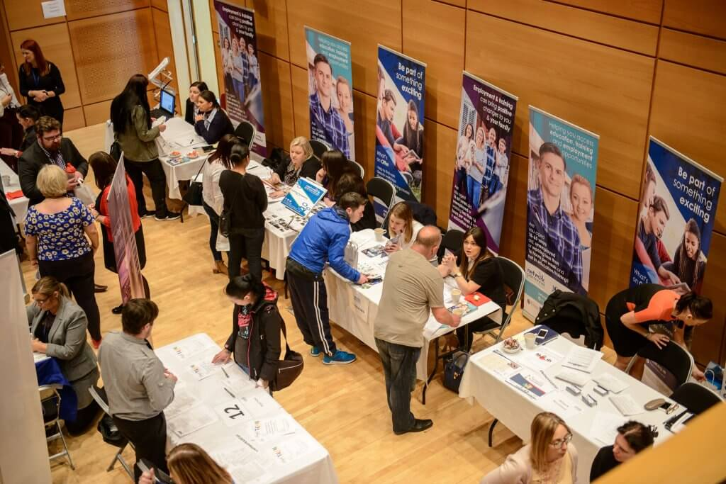 Ballymena Job Fair Attendees